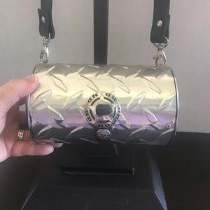 Harley Davidson unique metal handbag
